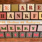 Holiday Decor: Reversible Thanksgiving Blocks