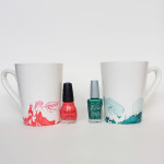 Marbled Nail Polish Mugs {6 Things I Wish I Had Known}