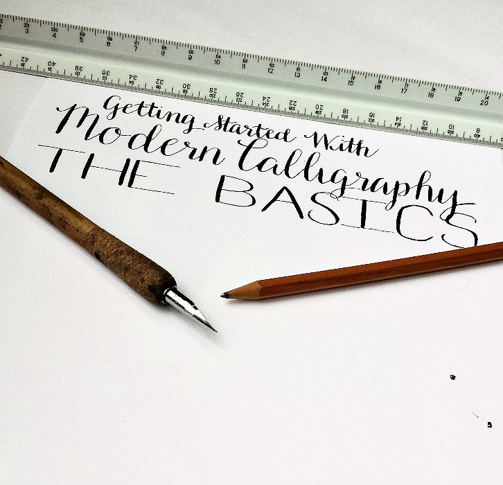 Getting started with modern calligraphy the basics Calligraphy basics
