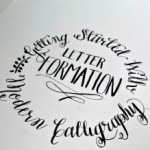 Getting Started with Modern Calligraphy {Letter Formation}