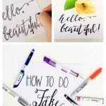 How to Do Fake Calligraphy