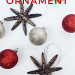 Snowflake Christmas Ornament {Using Clothespins}
