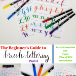 The Beginner's Guide to Brush Lettering: Part II
