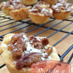 Nuts in a T-Shirt Recipe {Mini Pecan Pies}