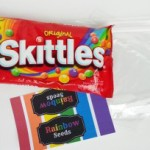DIY Rainbow Seeds Goodie Bag and Printable