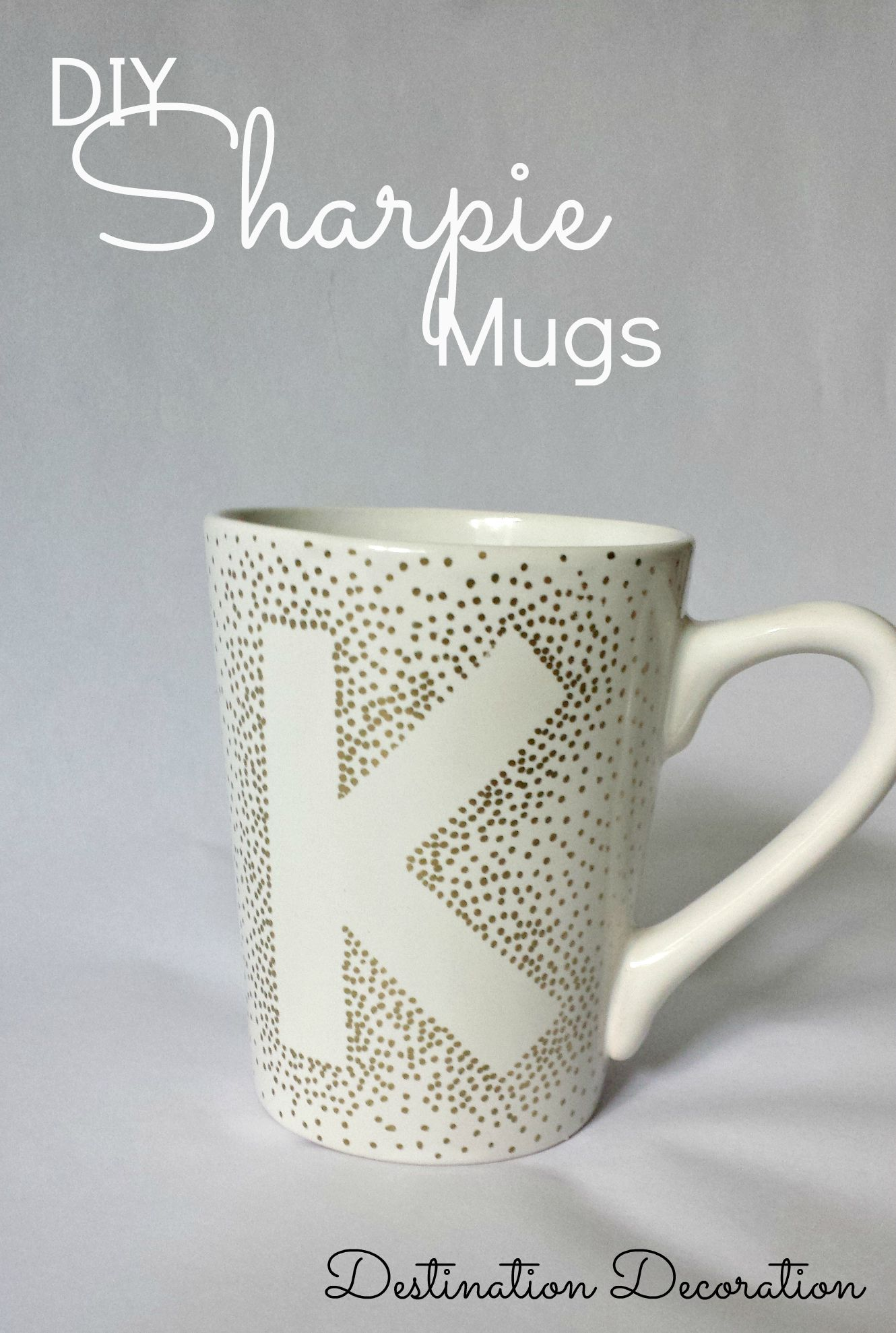 Diy Sharpie Mugs Using Dollar Tree Mugs